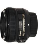 Оптика Nikon AF-S NIKKOR 50 mm f/1.8G
