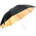 Зонт золотой на отражение 83 см