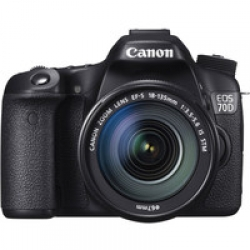 Canon EOS 70D Kit 18-135 IS STM