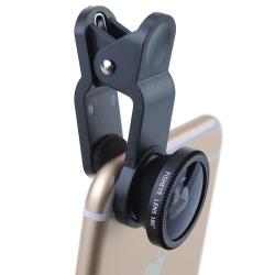 Объективы для iPhone 3 в 1 универсальные