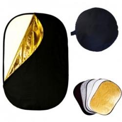 Отражатель 5 в 1 92x122 см Рефлектор, лайт диск,