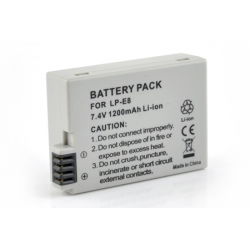 Аккумулятор повышенной емкости LP-E8