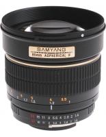 Samyang 85mm f/1.4 AC IF