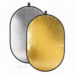 Отражатель 2 в 1 120 х 180 см лайт диск рефлектор