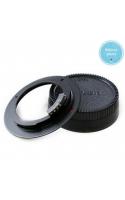 Переходное кольцо M42 - Nikon c одуванчиком без линзы